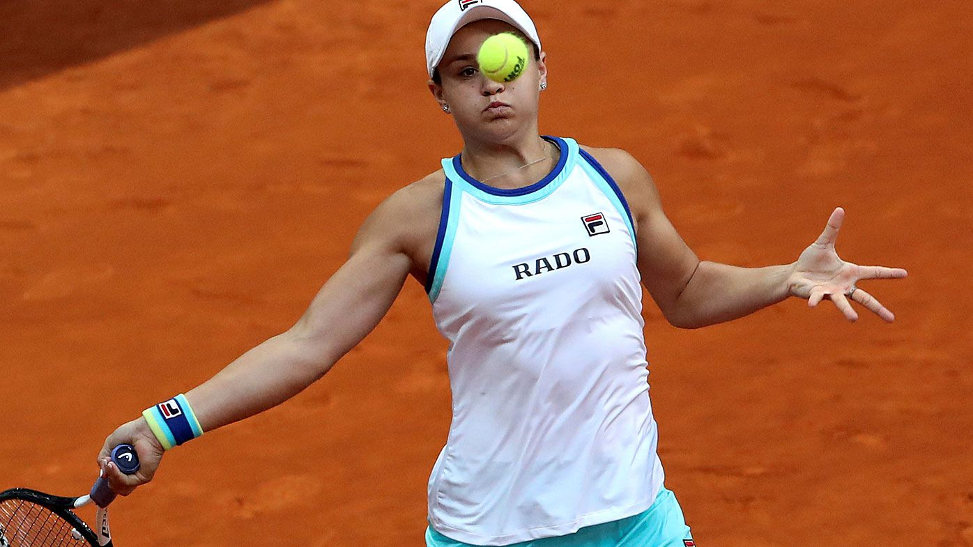 Barty hit a hurdle en route to the French Open