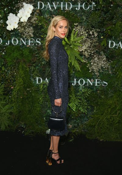 Model and actress Isabel Lucas