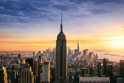 8. Enjoy beautiful views of New York from the top of the Empire State Building