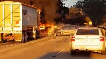 Truck crash news headlines