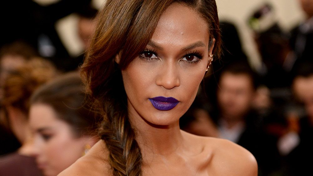 Joan Smalls launches a lipstick collection