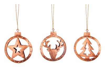 "<a href=""http://www.papaya.com.au/Cinnamon%20hanging%20metal%20round%20cut%20out%20reindeers%20trees%20%20stars%20copper%20asst%20set-6%20H8cm"" target=""_blank"">Papaya Cinnamon Cut-Out Decoration Set, $24.95.</a>"