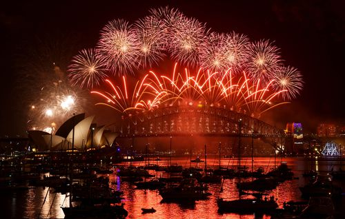 More than a million people will watch the fireworks in Sydney Harbour. (AAP)
