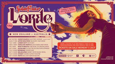 Lorde announces Solar Power tour