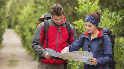 Swap walking for orienteering