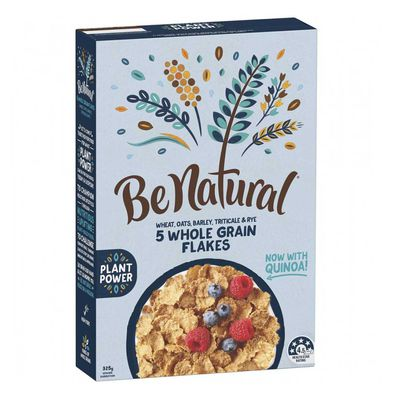 Be Natural 5 Wholegrain Flakes