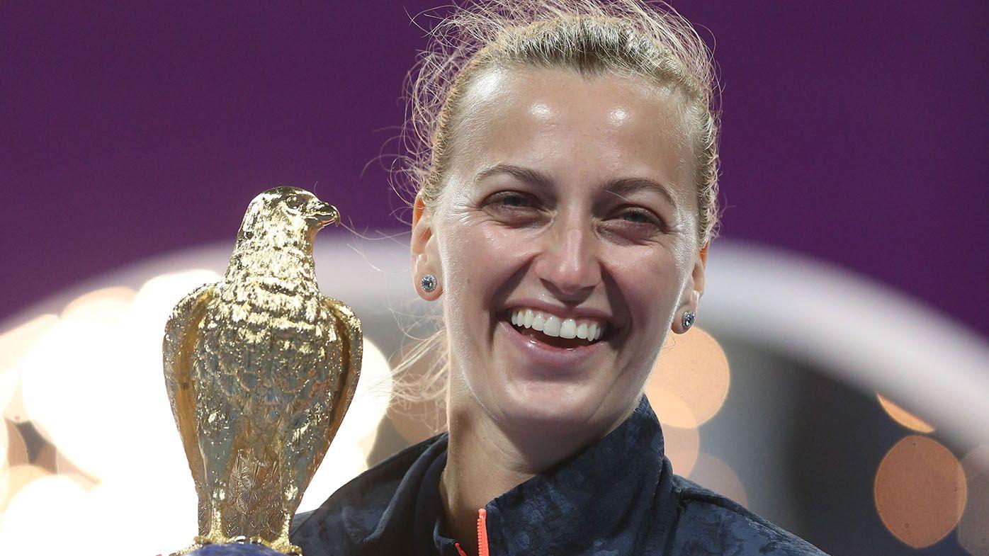 WTA Qatar Open: Petra Kvitova beats Garbine Muguruza in final to claim 28th title