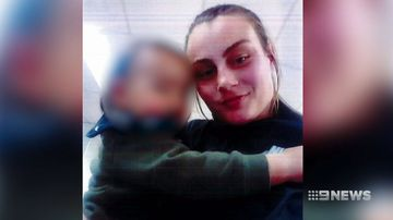 A snatched toddler has been found while a woman (right) remains missing.