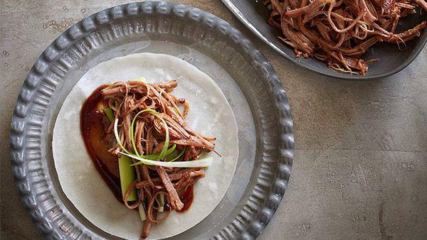 Hoisin and rice wine braised beef ribs
