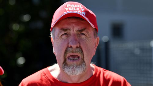 Candidate Paul Tully. (AAP)