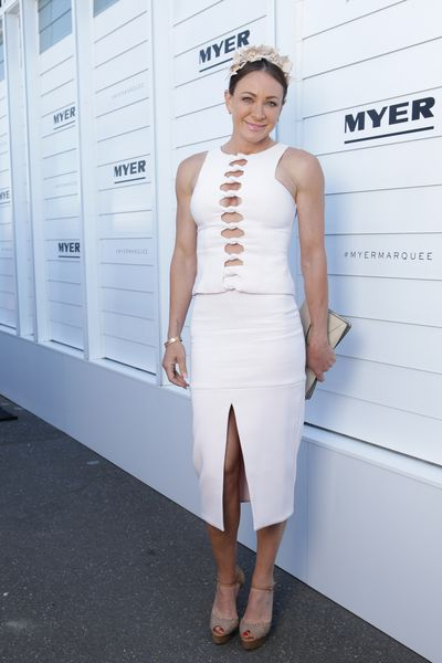 <p>Hit: Michelle Bridges body remains insane.</p> <p>Miss: The bows lining the bodice of this By Johnny dress might be better suited for an event outside of family viewing hours. </p>