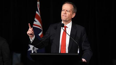 <strong>WINNER</strong><br /> Bill Shorten - destroyed the Turnbull dream, but hasn't completely won the war. (All images AAP)