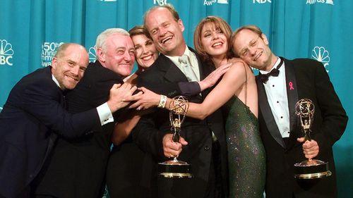Frasier cast members in 1998 (AAP).