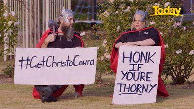 Cowra Chris Hemsworth tourism plan