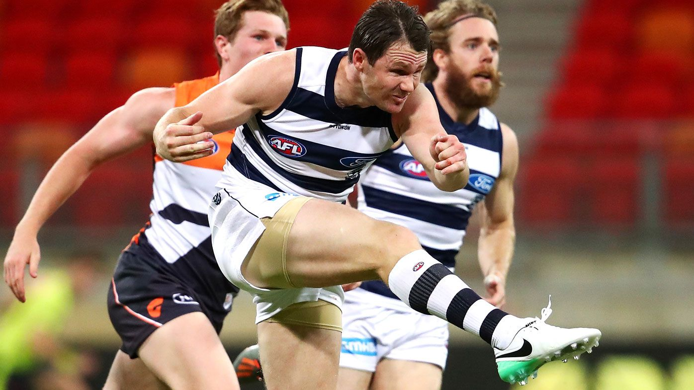 Geelong star Patrick Dangerfield not sure about short quarters this AFL season