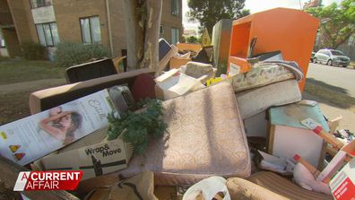 Rubbish pile up around local 'donation bins'