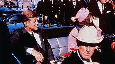 John F and Jackie Kennedy (Getty)