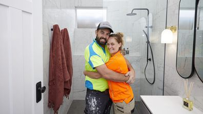The Block 2020 guest ensuite Daniel and Jade