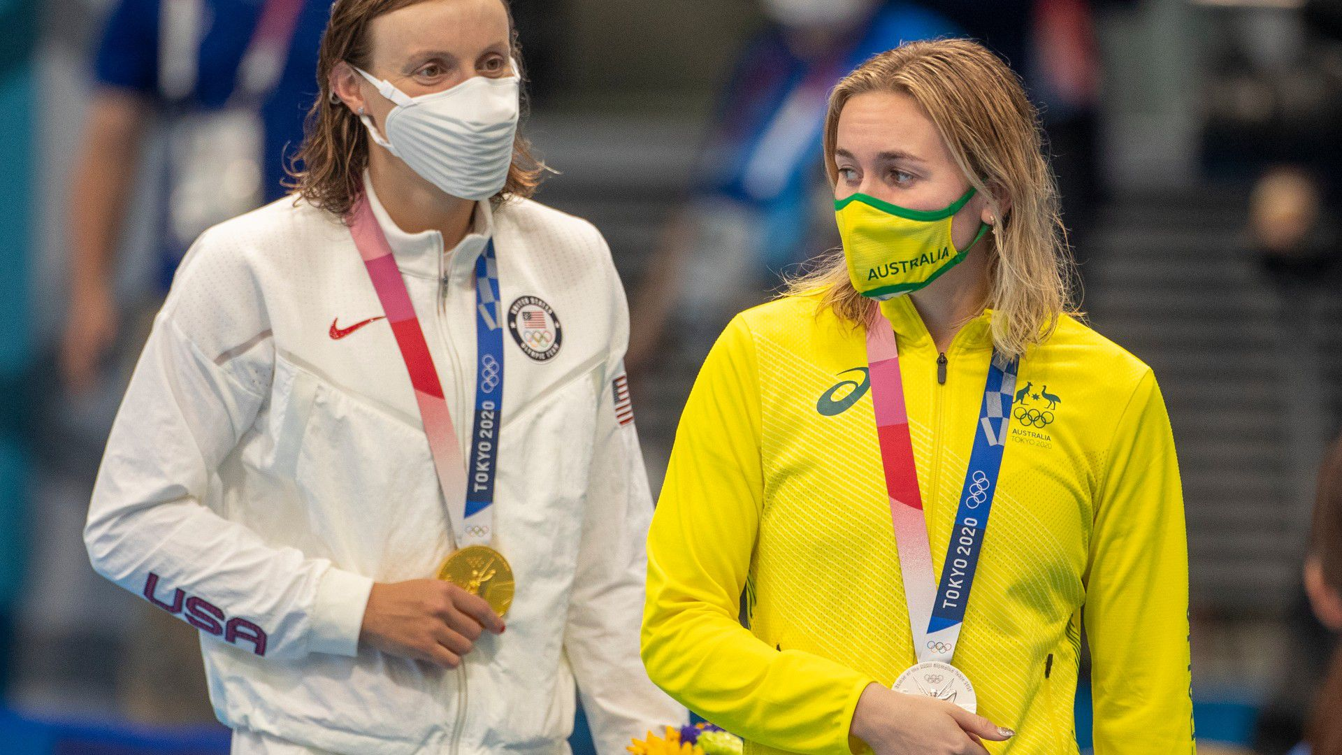 What Ledecky really thinks of Ariarne Titmus