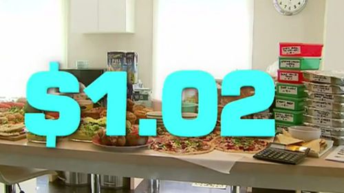 The innovative plan slashes the prices of family dinners. (9NEWS)