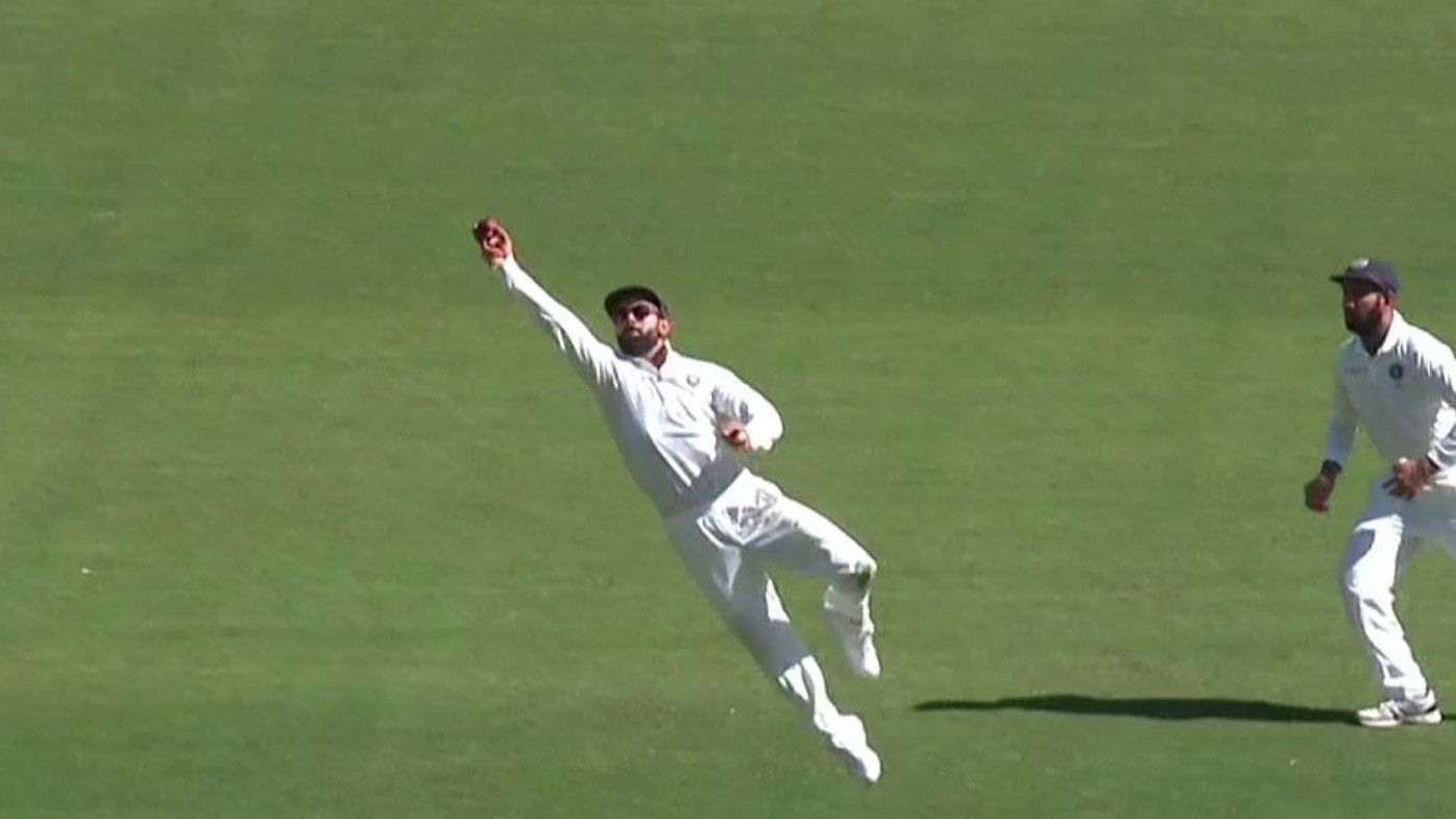 Virat Kohli rivals Usman Khawaja with incredible one-handed diving catch