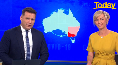 Today host Karl Stefanovic introduces the video.