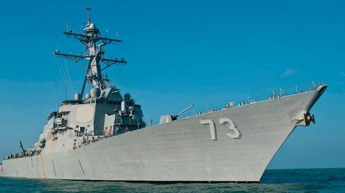 A People's Republic of China Luyang destroyer approached USS Decatur in an unsafe and unprofessional manoeuvre  in the South China Sea, says the US Navy.