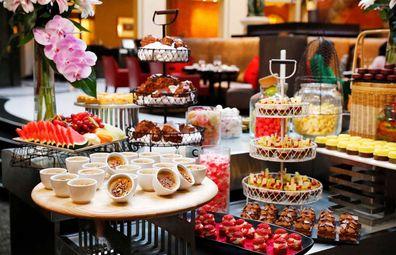 Intercontinental Sydney high tea buffet