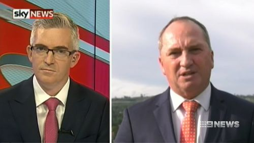 """""""They don't have the capacity to take out a nation, or completely wipe out our defence sources,"""" Mr Joyce said today."""