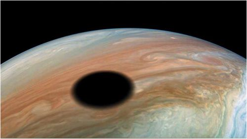 A NASA space mission has found a large black spot on Jupiter and it isn't what you think.