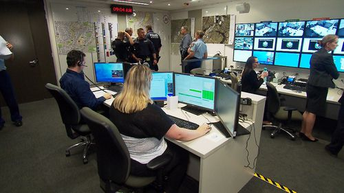 The simulation places emergency responders under pressure. (9NEWS)