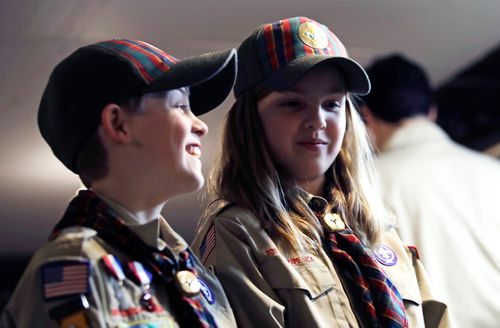 The Girl Scouts of the USA are taking the Boy Scouts of America to court over their use of the name.