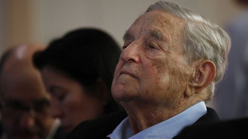 "In the string of tweets, Barr called Democratic financier George Soros a ""nazi who turned in his fellow Jews 2 be murdered in German concentrartion camps"". Picture: AP"