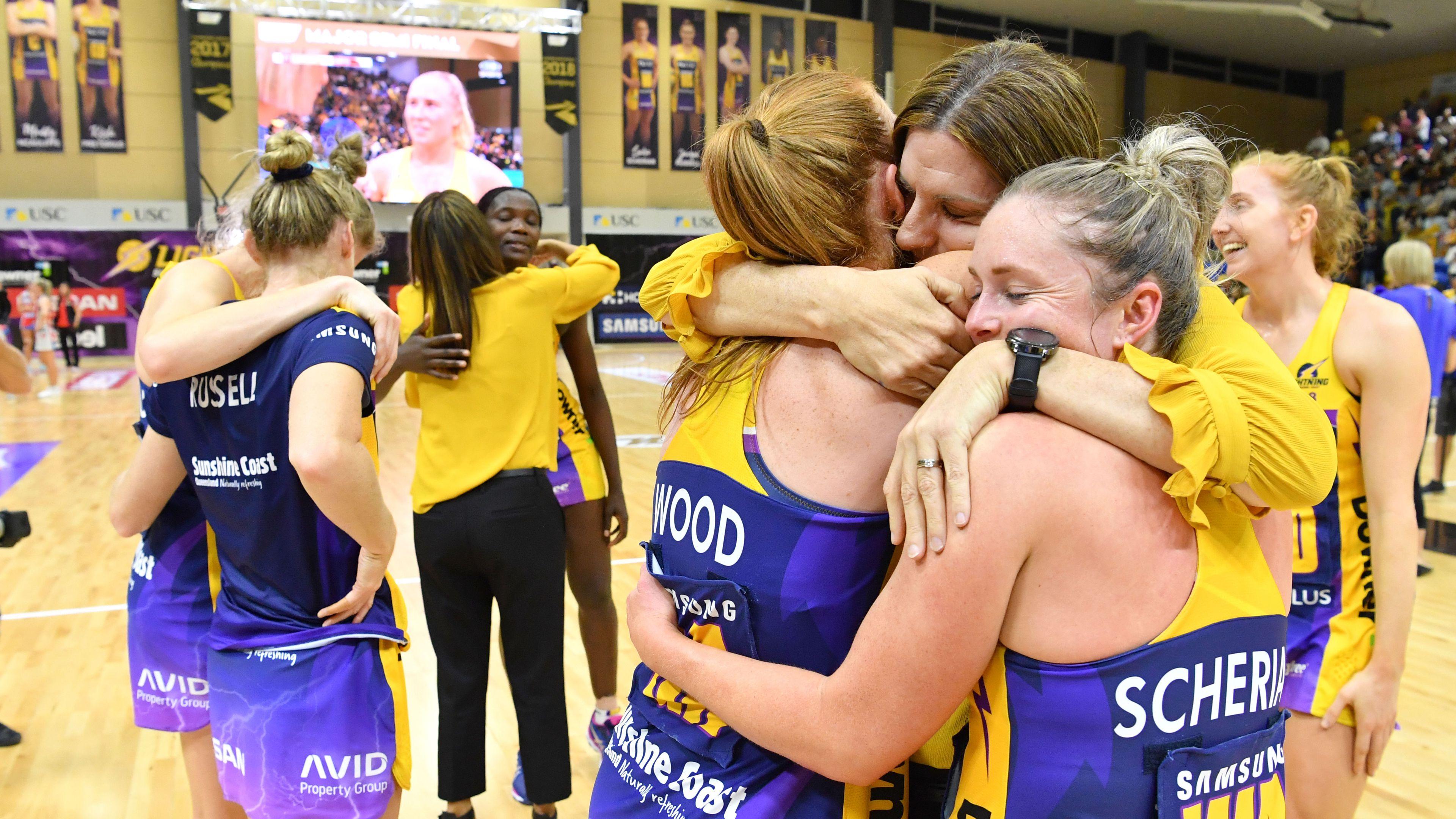 Sunshine Coast Lightning bolt into Super Netball final