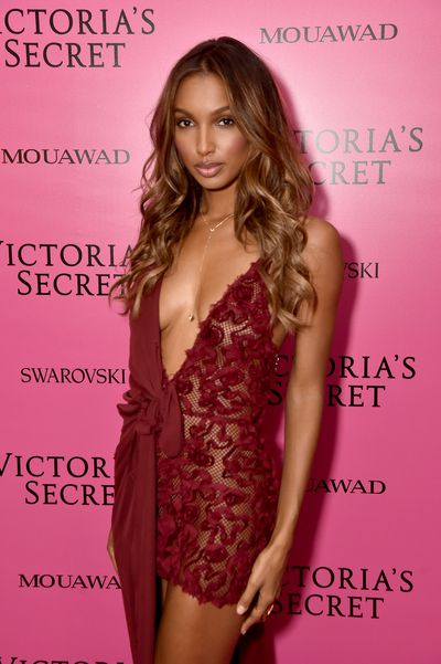 Jasmine Tookes in Massachi at the 2017 Victoria's Secret Fashion Show After Party