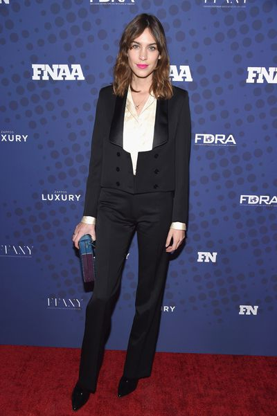 Alexa Chung in Alexachung at the FN Achievement Awards in New York.