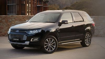 The Ford Territory TX petrol was rated the best value large SUV/4WD, with the Mitsubishi Pajero GLX diesel coming second, and the Mazda CX-9 coming third. (Supplied)