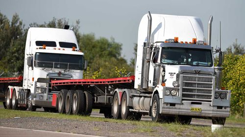 Truck driving is one of the most dangerous jobs in Australia.