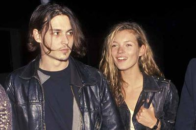 """So, with her fame increasing every day, it was no surprise Kate was soon linked to a celebrity, in the form of Johnny Depp. They were THE couple of the 90s and shocked everyone by staying together for four years. Mossy has previously spoken about the """"years of crying"""" she endured when it ended. <br/>"""
