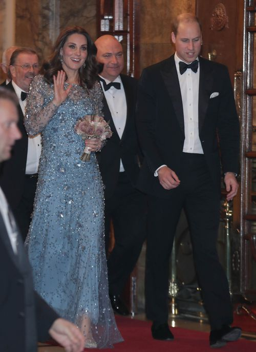 Kate and William attended the Royal Variety Performance in London. (AAP)
