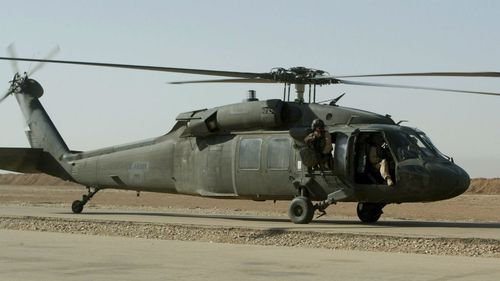 Remains found after US Black Hawk crashes with 11 onboard