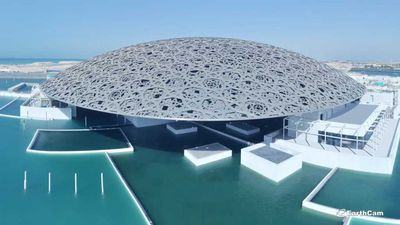 Timelapse shows eight-year build of Louvre Abu Dhabi in just three minutes