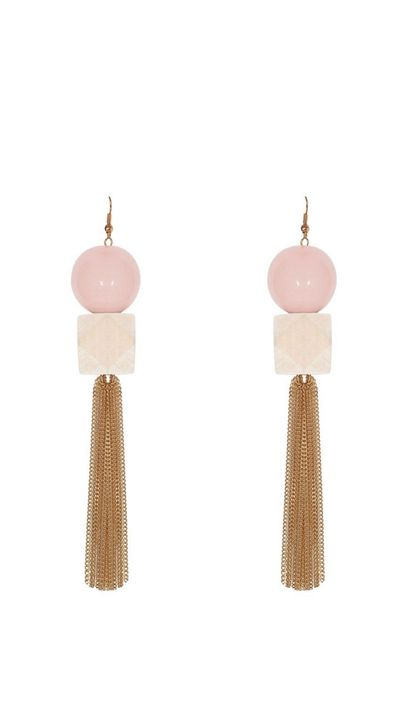 "<p>High impact accessories are the easiest way to transform a look.</p><a href=""http://www.gormanshop.com.au/accessories/all/square-peg-earrings.html"" target=""_blank"">Earrings, $59, Gorman</a>"