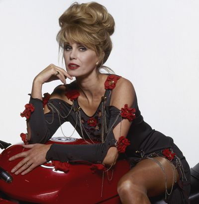 <p>Patsy Stone (played by Joanna Lumley) may have been the laugh of <em>Absolutely Fabulous</em>, but her chic 3-day old hairstyle known as a 'chignon' was always on point in 1995.</p> <p> </p>