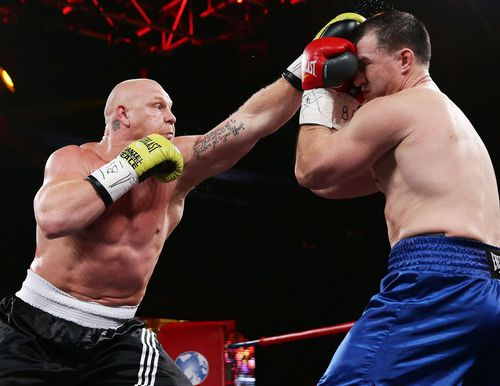 Gallen said he felt relaxed the whole fight. (Getty)