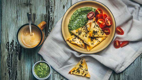 Cauliflower samosas recipe