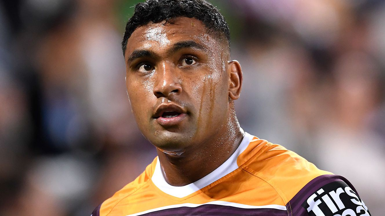 Tevita Pangai Junior will lock horns with the NRl and Broncos in a bid to be reinstated. (Getty)