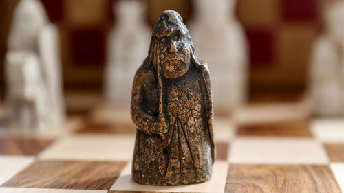 Ivory chess piece from the 12th century bought for $9, could fetch millions