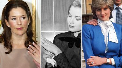 The most meaningful royal engagement rings