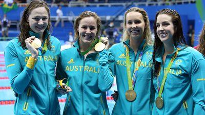 Rio 2016: Women's 4x100m freestyle relay
